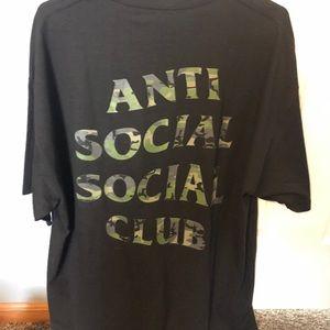 Anti Social Social Club Woody Tee, Never Worn